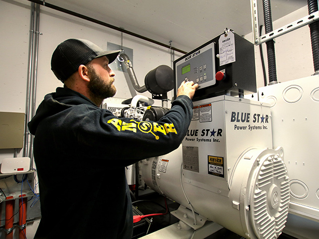 Anser - Generator Servicing and Maintenance